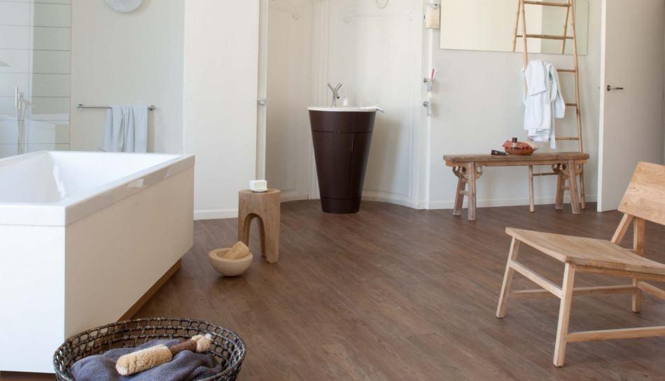 Vinyl Floor Bathroom