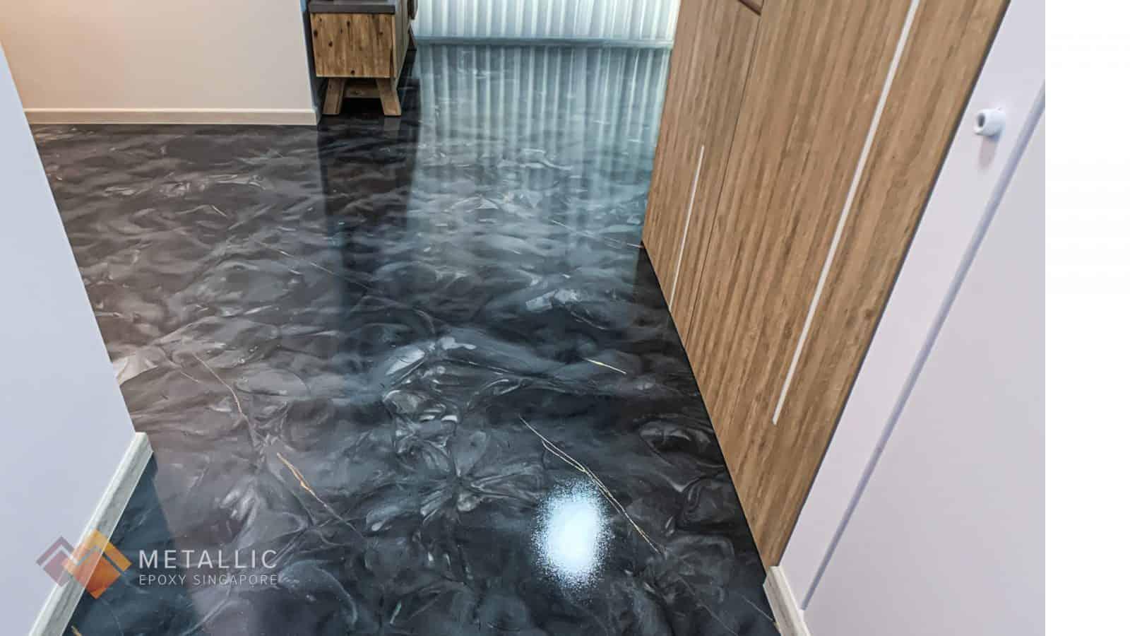 Earth Grey Marble Flooring