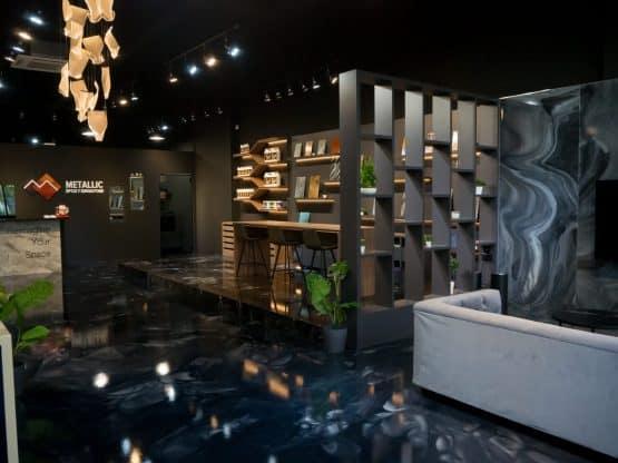 Metallic Epoxy Showroom