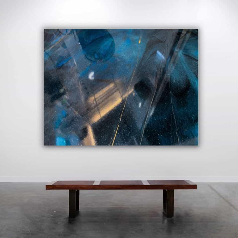 Midnight Blue Galaxy Flooring